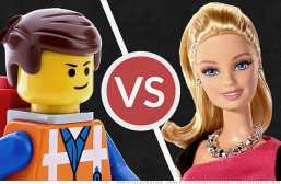 Toys Will Be Toys: Barbie vs. LEGO