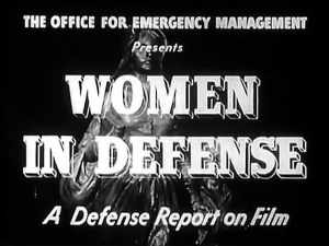 1941 Short Film written by First Lady Eleanor Roosevelt