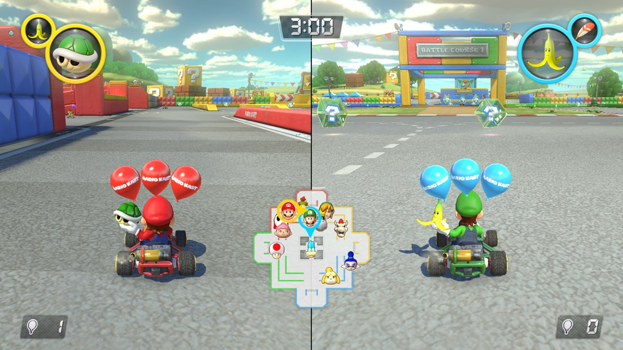 Mario Kart 8 Deluxe is the best showcase of the Switch's