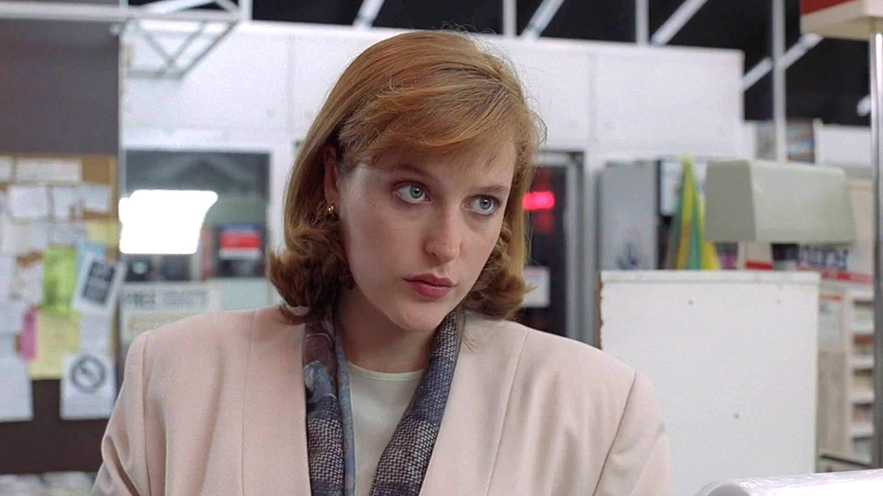 "Gillian Anderson in ""Duane Barry"" S2E5 The X-Files. 1993."
