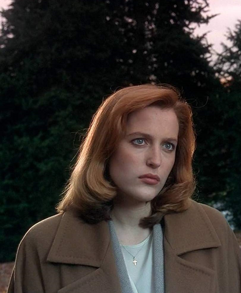 "Gillian Anderson in ""Excelsis Dei"" S2E11. The X-Files. 1994."