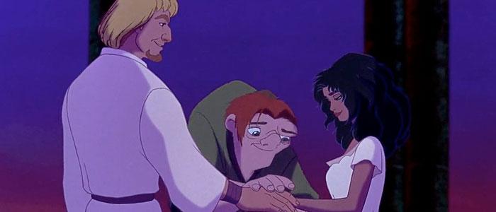 Phoebus, Quasimodo, and Esmeralda