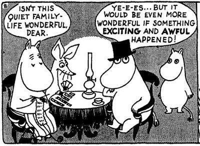Moomins Dark Humour