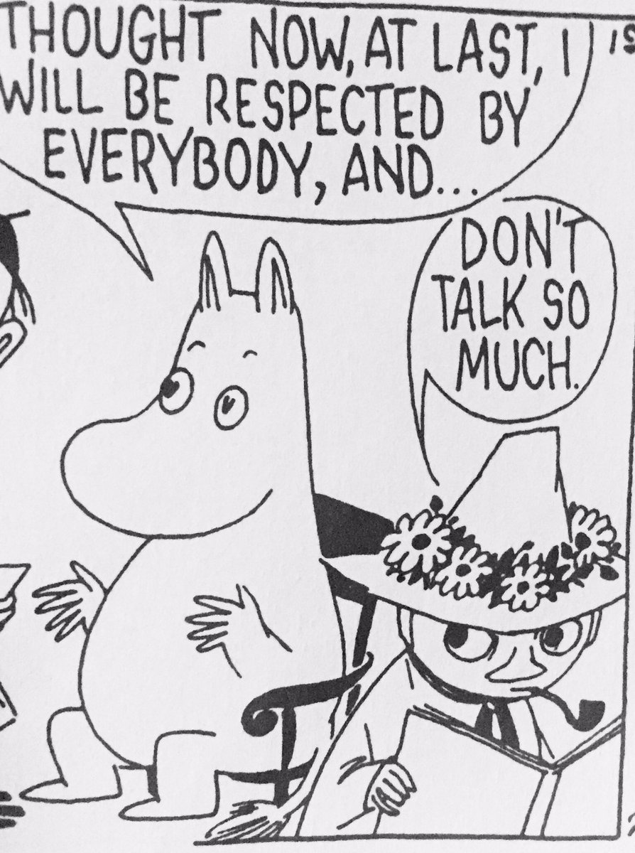 Moomins strip