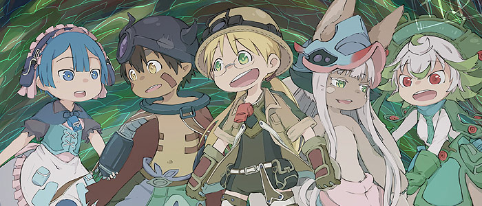 Made in Abyss the whole cast