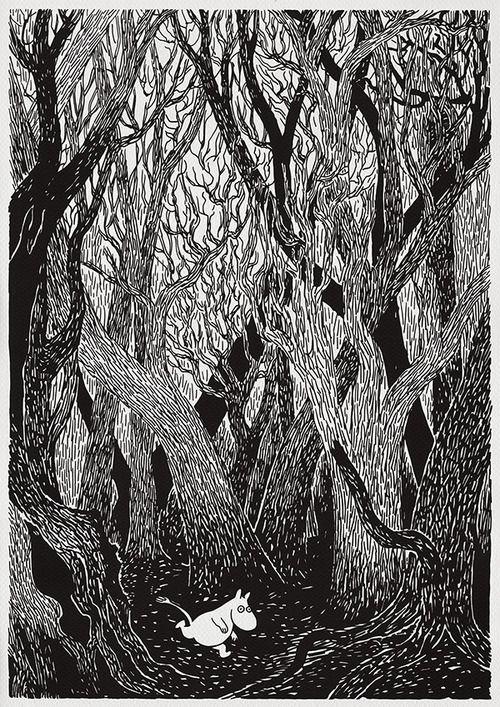 Moomins artwork