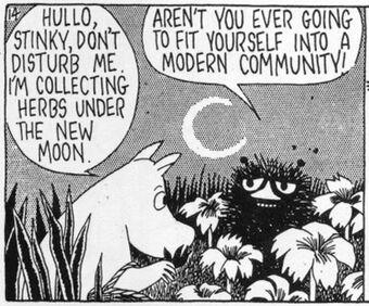 Moomins Stinky