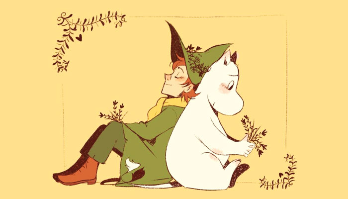 Moomins artwork