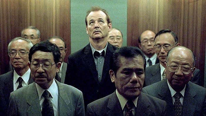 Lost in Translation elevator scene