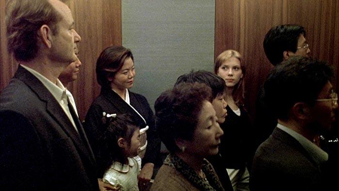 Lost in Translation elevator