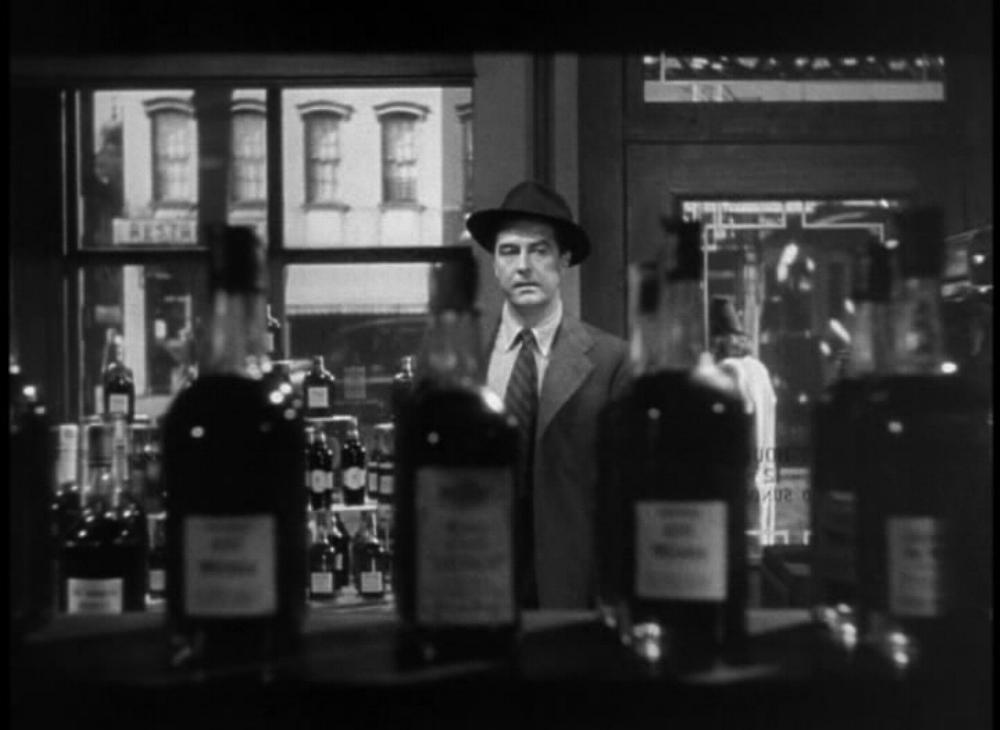 Ray Milland as Don Birnam in The Lost Weekend