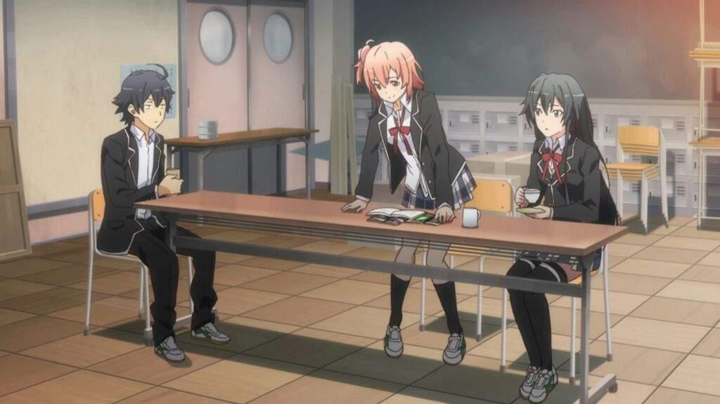 Hachiman, Yui, and Yukino