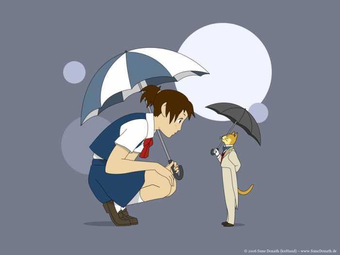 The Cat Returns - Raindrop