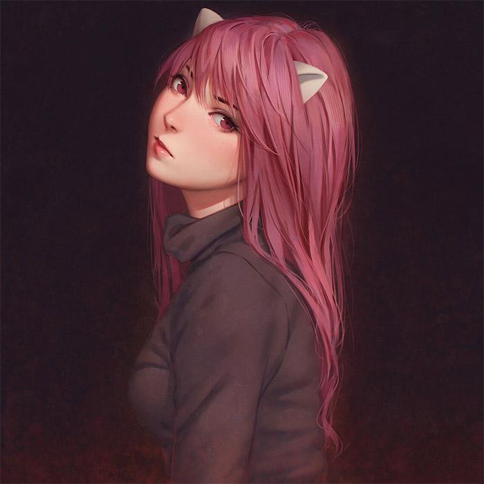 Elfen Lied Lucy Artwork