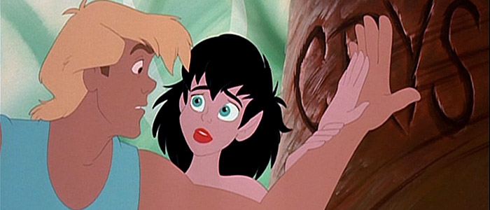 FernGully: The Last Rainforest Zak and Crysta
