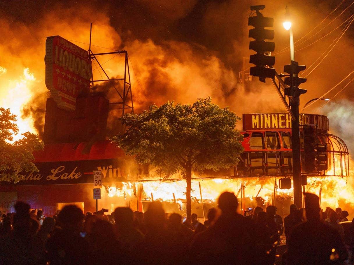 Riot in Minneapolis