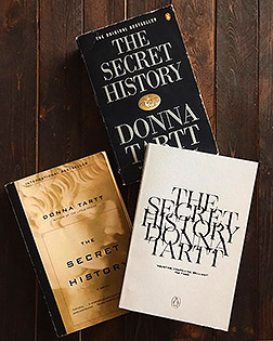 The Secret History Book Covers