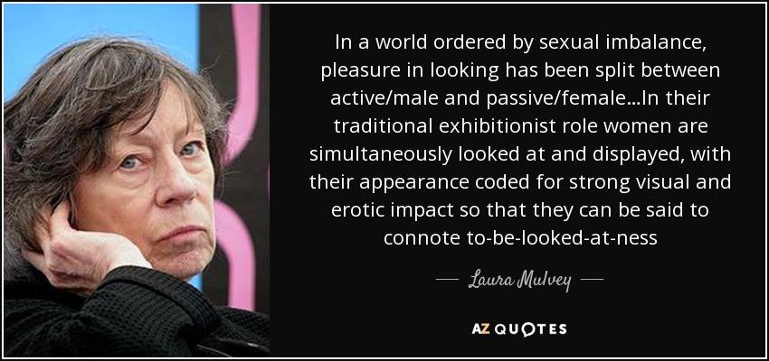 Laura Mulvey Quote