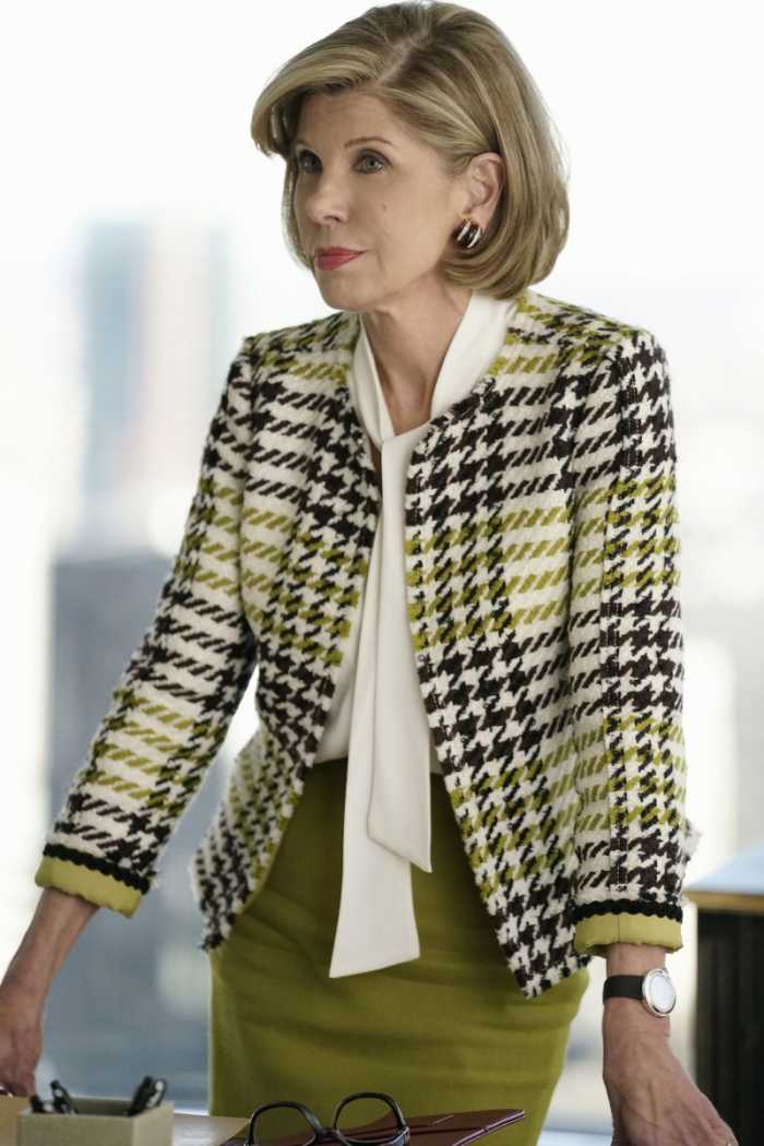 The Good Fight  worn by Diane Lockhart