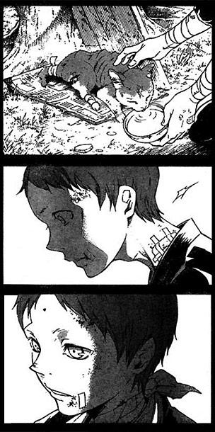 Deadman Wonderland manga strip
