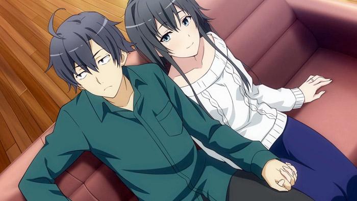 Hachiman and Yukino