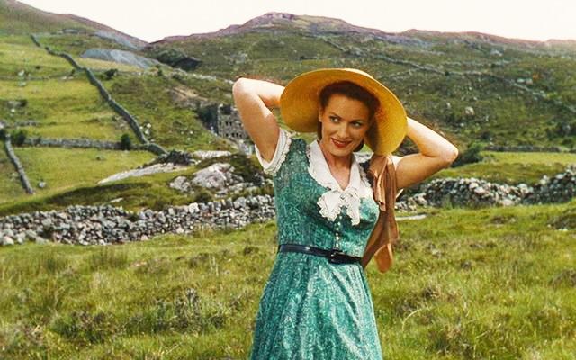 Maureen in The Quiet Man