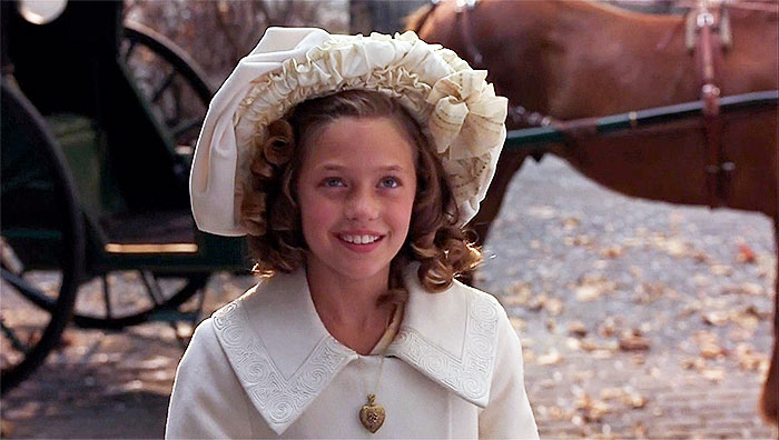 Sara Crewe in A Little Princess