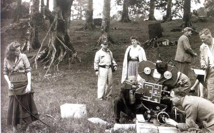 John Ford directing