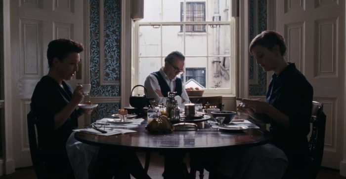 Phantom Thread Breakfast