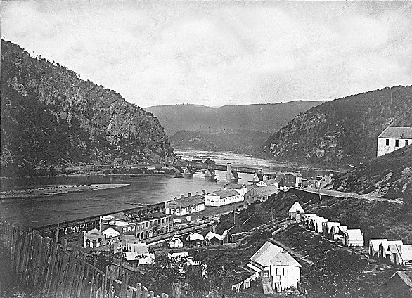 Harpers Ferry in 1862
