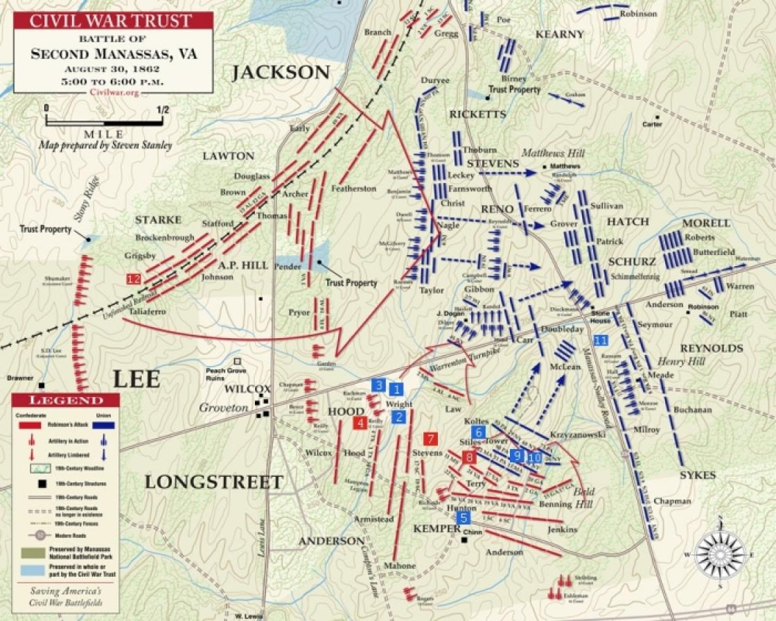 The Battle of Second Manassas