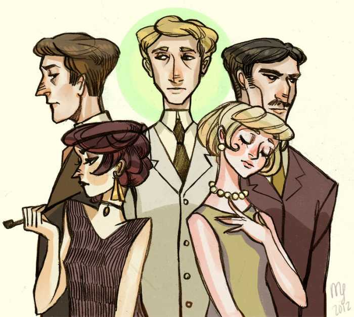 The Great Gatsby artwork