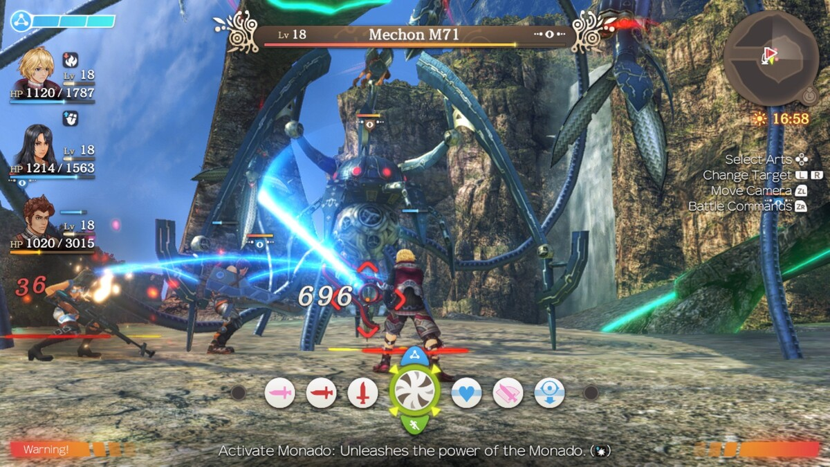 Shows the graphical overhaul of the game and the cleaned up gameplay.