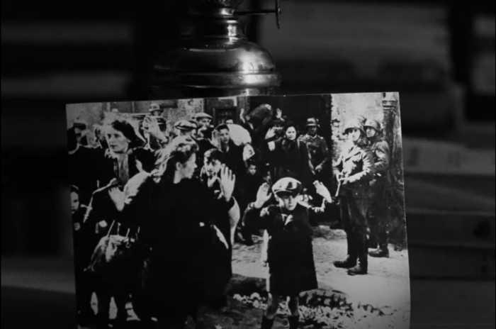 The Warsaw ghetto boy photo