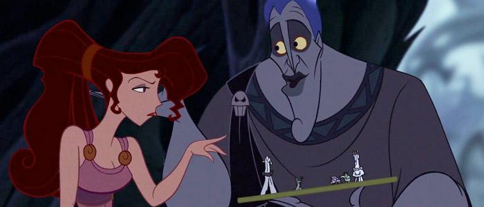 Meg with Hades