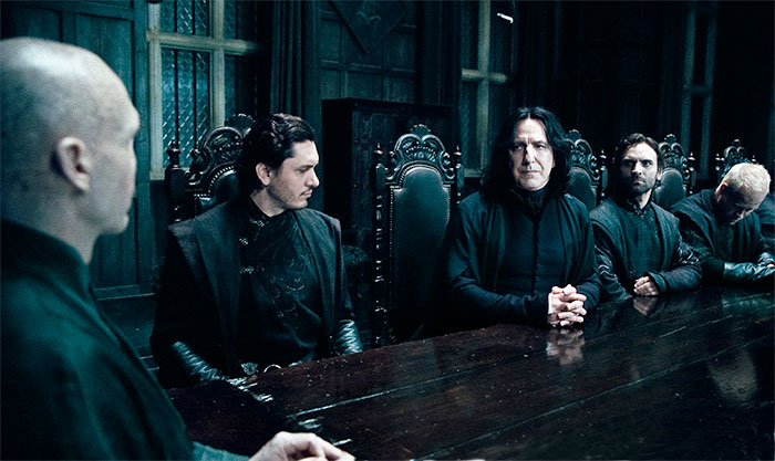 Snape and the Death Eaters