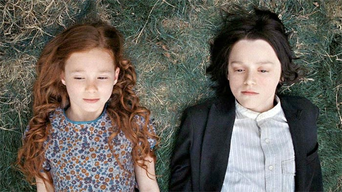 Young Lily and Severus