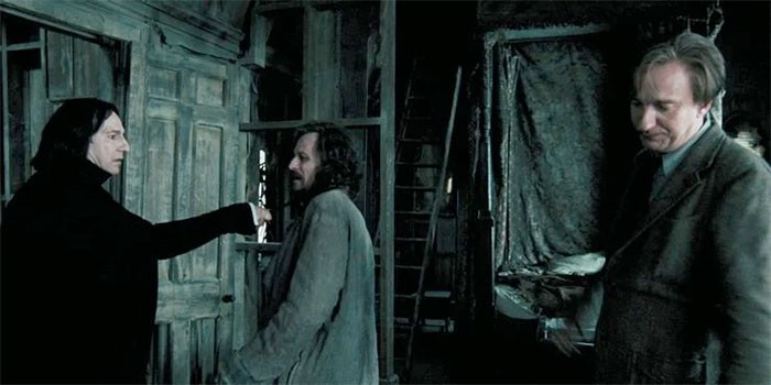 Snape, Lupin, and Sirius
