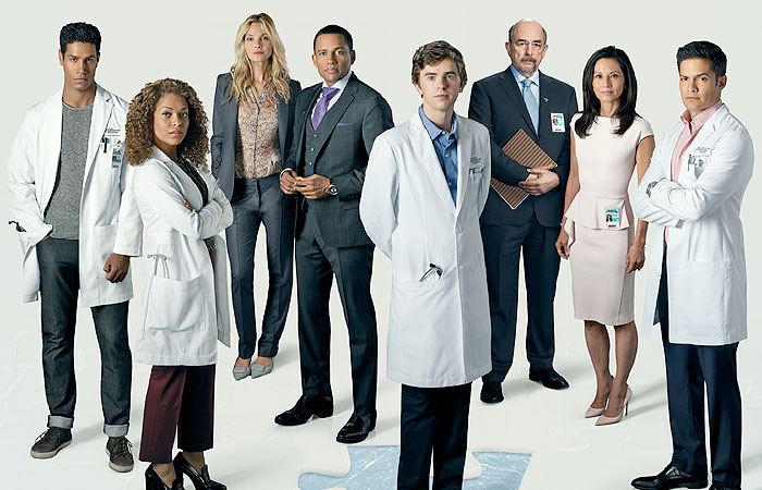 Cast members of The Good Doctor