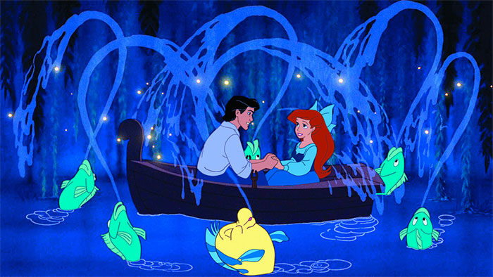 Eric and Ariel on a heartwarming boat ride