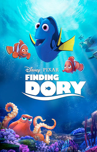 Film poster of Finding Dory