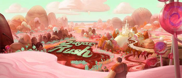 Sugar Rush, the video game world