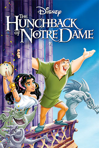 Film poster of The Hunchback of Notre Dame