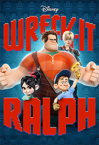 Film poster of Wreck-it Ralph