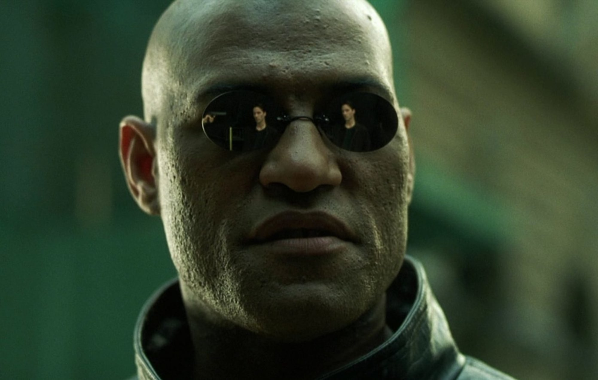 Morpheus in The Matrix