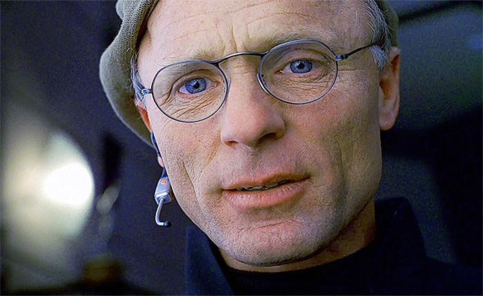 Christof in The Truman Show